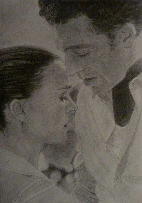 Natalie Portman, Vincent Cassel by Daedalus